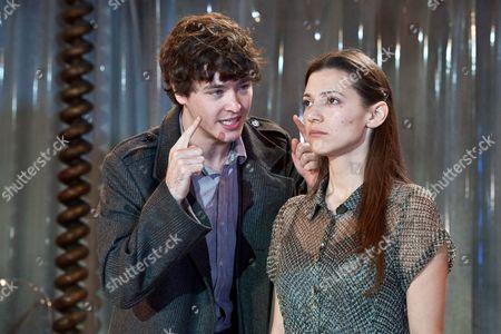 'Britannicus' - Alex Vlahos as Britannicus and Hara Yannas as Junia