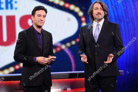 Jon Allen with Jonathan Ross