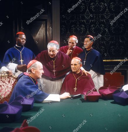 Stock Picture of Thomas Baptiste, Rupert Davies, Tony Steedman, Peter Copley and Robert Lee