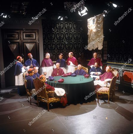 Thomas Baptiste, Christopher Benjamin, Roger Delgado, Rupert Davies, Peter Copley, Robert Lee, John Bailey (wheelchair)