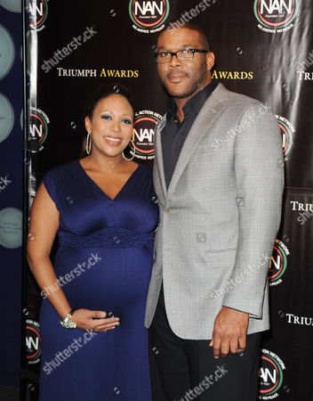 Mara Schiavocampo and Tyler Perry