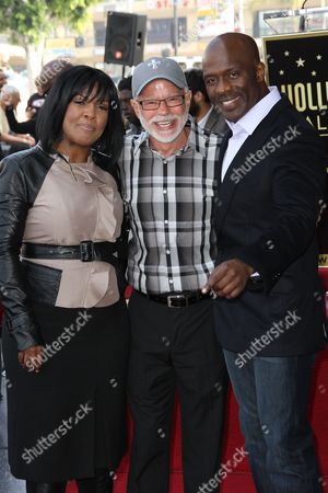 Editorial photo of BeBe and CeCe Winans Honored With Star On The Hollywood Walk Of Fame, Los Angeles, America - 20 Oct 2011
