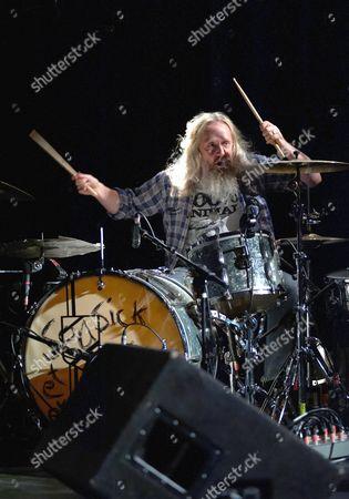 Seasick Steve drummer Dan Magnusson