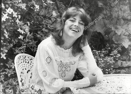 Dido Goldsmith (mrs. Peter Whitehead) Laughing In Garden 1979.