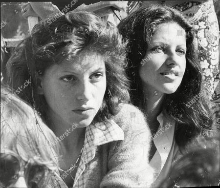 Dido Goldsmith (mrs. Peter Whitehead) And Sister Clio Goldsmith 1976- Daughters Of Conservative Mp Major Frank Goldsmith.