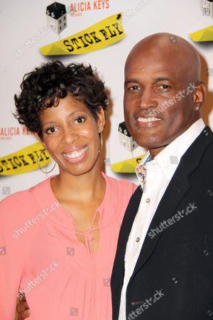 Lydia R Diamond and Kenny Leon