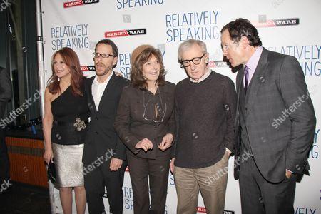 Marlo Thomas, Ethan Coen, Elaine May, Woody Allen and Steve Guttenberg