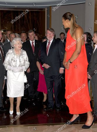Queen Elizabeth II and Basketball player Elizabeth Cambage