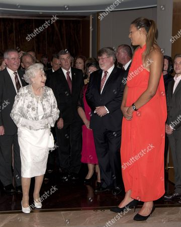 Queen Elizabeth II and Basketball player Elizabeth Cambage