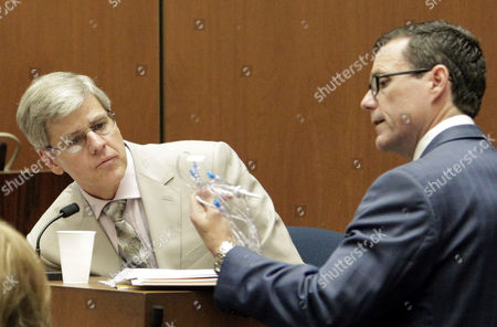 Dr. Steven Shafer and defence attorney Edward Chernoff