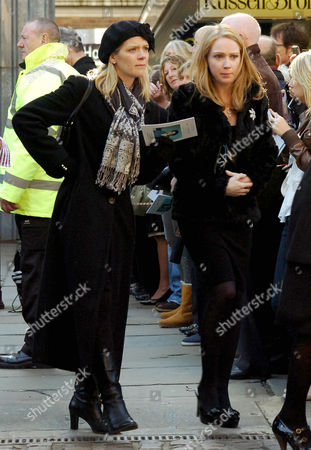 Stock Picture of Jane Danson and Julia Haworth