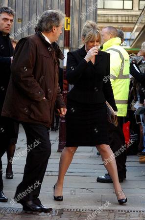 Stock Photo of Charles Lawson and Sarah Lancashire