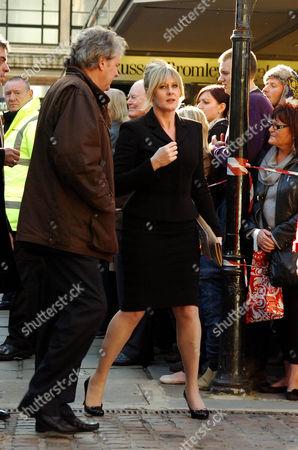 Charles Lawson and Sarah Lancashire