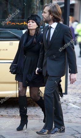 Alison King and Adam Huckett