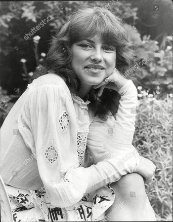 Stock Photo of Dido Goldsmith Mrs. Peter Whitehead 1979.