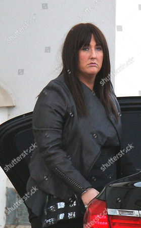 Sami Brookes arriving back at the house from the ITV studios..