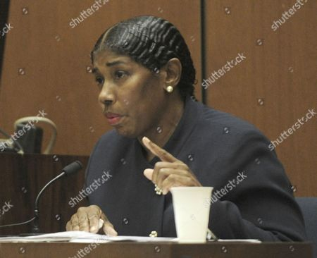 Editorial image of Dr Conrad Murray trial, Los Angeles, America - 24 Oct 2011