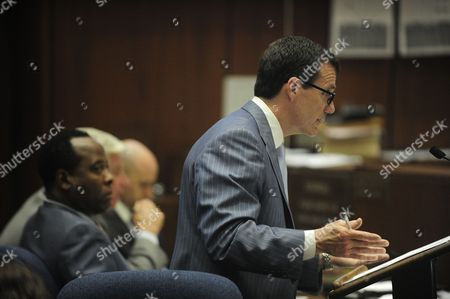 Dr Conrad Murray and defence attorney Edward Chernoff