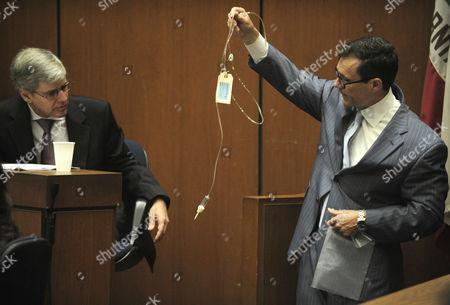 Editorial image of Dr Conrad Murray trial, Los Angeles, America - 24 Oct 2011
