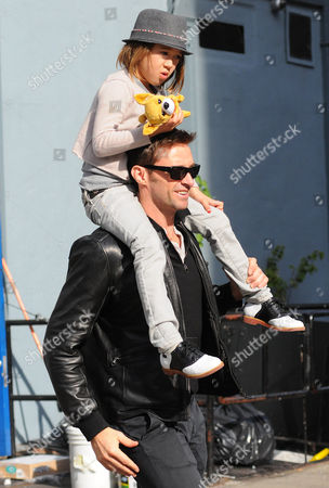 Hugh Jackman with daughter Ava Eliot Jackman
