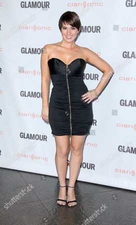 Editorial image of 6th Annual Glamour Reel Moments, Los Angeles, America - 24 Oct 2011