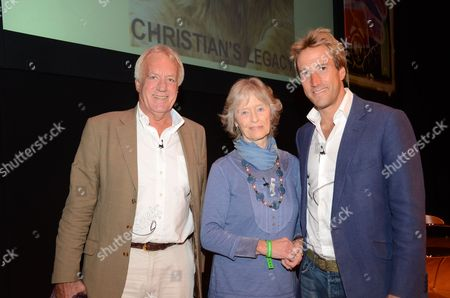 John Rendall, Virginia McKenna and Ben Fogle