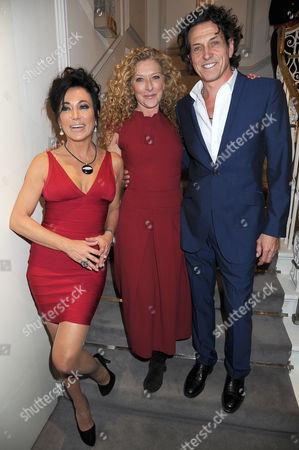 Nancy Dell'Olio, Kelly Hoppen and Stephen Webster