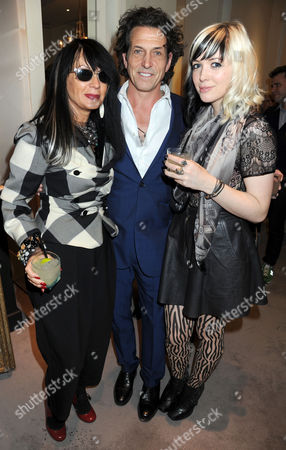 Stock Picture of Sue Timney, Stephen Webster and guest