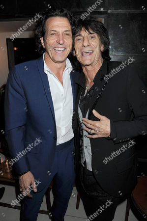 Stock Image of Stephen Webster and Ronnie Wood