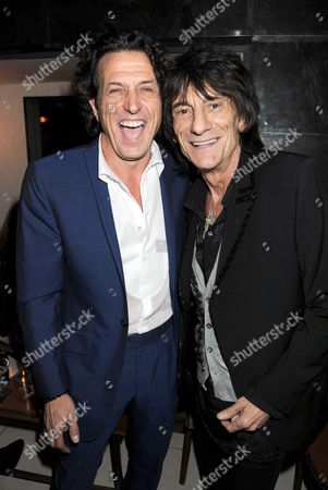 Stephen Webster and Ronnie Wood