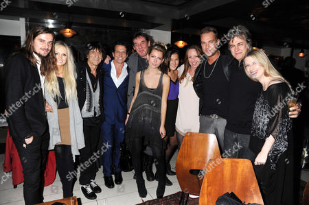 Editorial picture of Tomasz Donocik 'The Garden of Good and Evil' jewellery collection launch, London, Britain - 25 Oct 2011