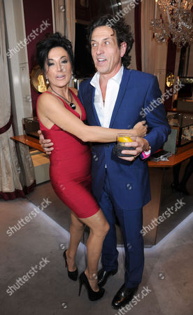 Nancy Dell'Olio and Stephen Webster