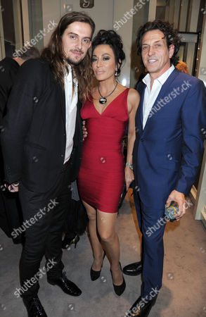 Tomasz Donocik, Nancy Dell'Olio and Stephen Webster