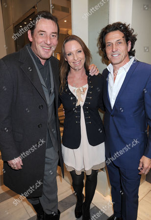 Paul Tucker, wife and Stephen Webster