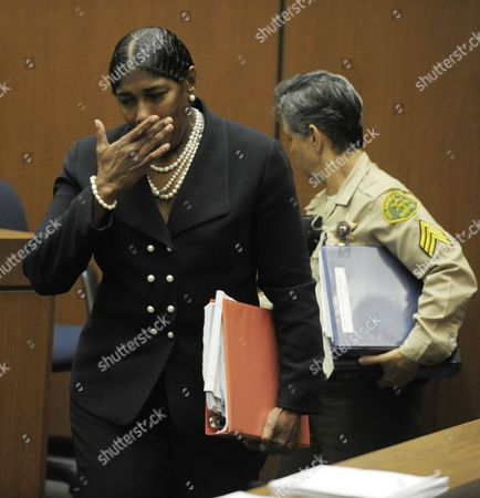 Editorial photo of Dr Conrad Murray trial, Los Angeles, America - 25 Oct 2011