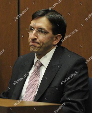 Editorial photo of Dr Conrad Murray trial, Los Angeles, America - 25 Oct 2011