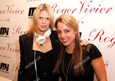 Alexandra Richards and Michelle Edgar