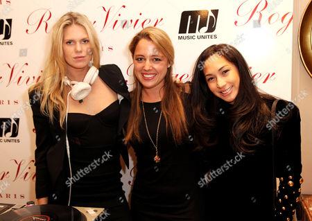 Alexandra Richards, Michelle Edgar and Christine Nebiar