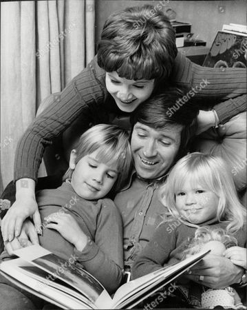 Actor John White With His Wife Actress Julie Stevens And Their Two Children