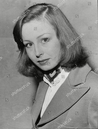 Stock Photo of Julia Morris Secretary With Employment Bureau 1973.