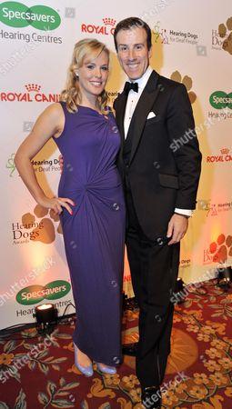 Rebecca Wilcox and Anton Du Beke