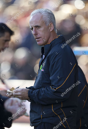 Stock Picture of Wolverhampton Wanderers manager Mick McCarthy