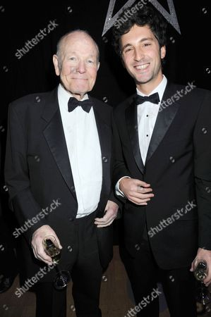 Stock Image of Sir Sydney Samuelson and his grandson