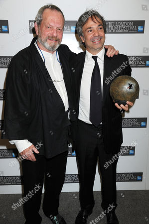 Terry Gilliam with Pablo Giorgelli