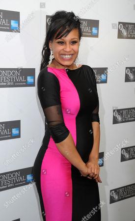 Candese Reid (winner of Best British Newcomer)