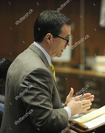 Defence attorney Edward Chernoff