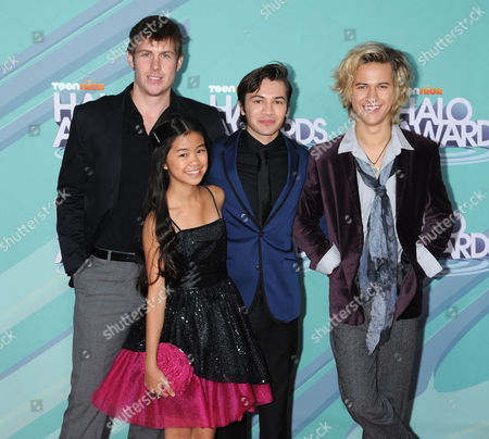D.C. Cody, Tiffany Espensen, Taylor Gray and Dillon Lane