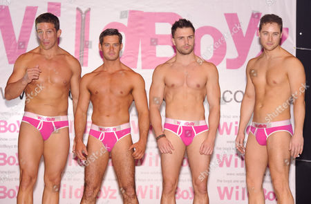 Alex Reid, Danny Young, Dale Howard and Marcus Patrick