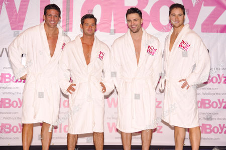 Editorial photo of 'Wildboyz' theatre tour photocall, Bloomsbury Theatre, London, Britain - 27 Oct 2011