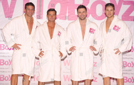 Stock Picture of Alex Reid, Danny Young, Dale Howard and Marcus Patrick